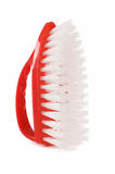 Red brush isolated on white Royalty Free Stock Images