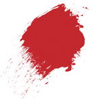 Red brush stroke background and texture. Design element Royalty Free Stock Photography