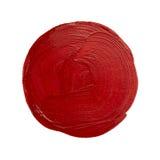 Red brush stroke Stock Images