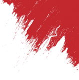 Red brush stroke isolated on white background and texture, illustration. Design element Royalty Free Stock Photos