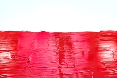Red brush strokes background Royalty Free Stock Photography