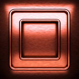 Red brushed metal background Stock Images
