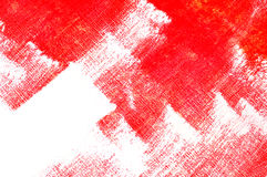 Red brushstrokes Royalty Free Stock Image
