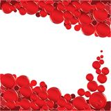 Red bubble Royalty Free Stock Photography