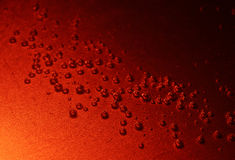 Red Bubbles Royalty Free Stock Photo