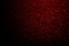 Red bubbles. On a black background Stock Photography