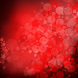 Red bubbles background Royalty Free Stock Photos