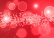 Red Bubbles Wallpaper Stock Photos