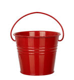 Red bucket Stock Photos