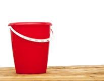 Red bucket Stock Photos