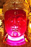 Red Buddha Royalty Free Stock Photo