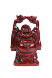 Red Buddha figures Stock Images