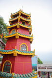 Red buddhism tower Stock Image