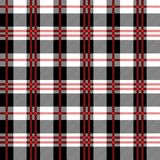 Red Buffalo Plaid Seamless Pattern vector illustration