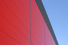 Red building royalty free stock photo