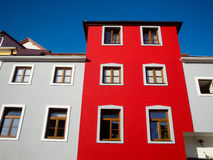 Red building Stock Photography