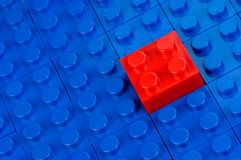Free Red Building Block Stock Photo - 10214010