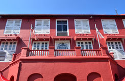 Red building Royalty Free Stock Photos