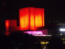 Red building. London, the national theatre Royalty Free Stock Photography