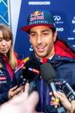 Red Bull Ściga się F1 Drużynowego, Daniel Ricciardo, 2015 Obraz Royalty Free