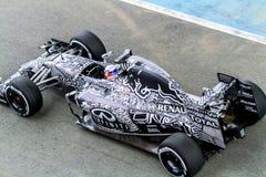 Red Bull Ściga się F1 Drużynowego, Daniel Ricciardo, 2015 Obrazy Stock