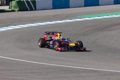 Red Bull Ściga się 2013 - Sebastian Vettel - Zdjęcia Stock