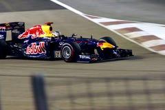 Red Bull που συναγωνίζεται την ομάδα σε Σινγκαπούρη F1 Στοκ Εικόνες