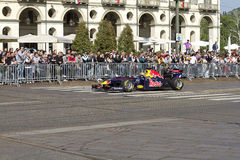 Mark Webber and Red Bull F1 Royalty Free Stock Photo