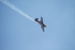 Red bull aeroplane Royalty Free Stock Photos