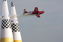 Red Bull Air race Barcelona Stock Images