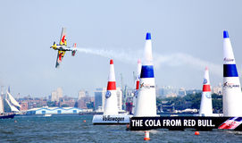 Red Bull Air Race at New York Harbor Stock Photo