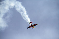 Red bull air show Stock Images