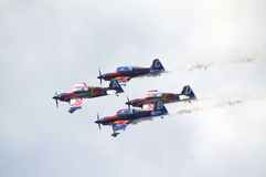 Red Bull Airshow Arkivbild