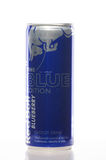 Red Bull blue in limited edition Royalty Free Stock Images