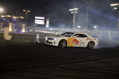 Red Bull Car Park Drift Middle East Finals Stock Photo