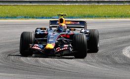 Red Bull che corre RB3 contrassegno Webber Australia F1 Sepan fotografia stock libera da diritti