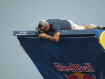 Red Bull Cliff Diving Polignano a Mare 2017 Royalty Free Stock Photo
