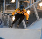 Red Bull Crashed Ice competition Stock Photo