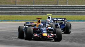 Red Bull, das RB3 David Coulthard britisches F 1. September läuft Stockfoto