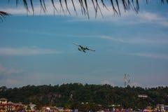 Red Bull-de Lucht toont 11 '. Unawatuna. Sri Lanka stock foto