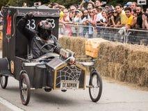 Red Bull Deadman racerbil Arkivfoto