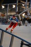 Red Bull deixou de funcionar a competição do gelo Imagens de Stock Royalty Free