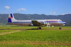 Red Bull Douglas DC-6B Obrazy Stock