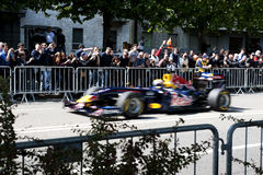 Red Bull event in Turin, Italy Stock Photography