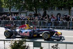 Red Bull event in Turin, Italy Stock Photo