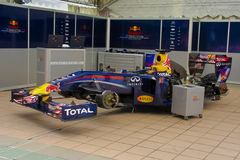 Red Bull F1 Royalty Free Stock Photography