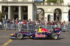 Sporty race car Stock Photos
