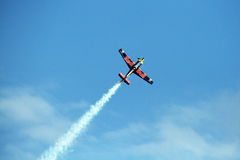 Red bull flight Royalty Free Stock Photography