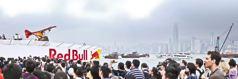 Red Bull Flight Day Royalty Free Stock Photos