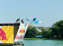 Red Bull Flugtag Stockbild